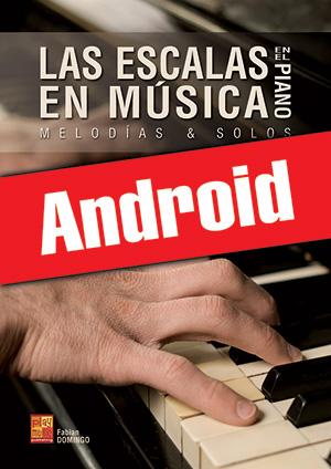 Las escalas en música en el piano (Android)