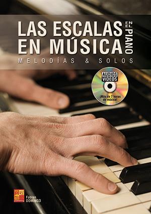 Las escalas en música en el piano