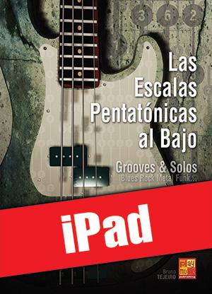 Las escalas pentatónicas al bajo (iPad)