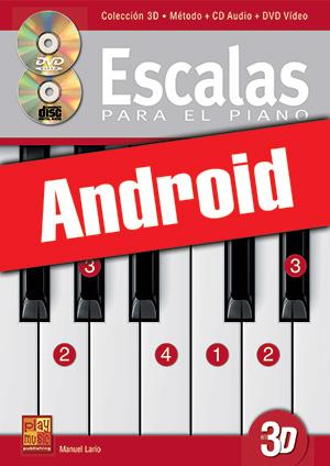 Escalas para el piano en 3D (Android)