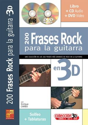 200 frases rock para la guitarra en 3D