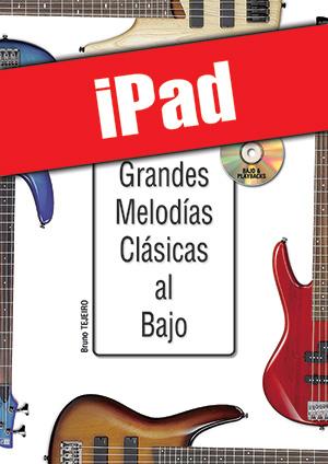 Las grandes melodías clásicas al bajo (iPad)
