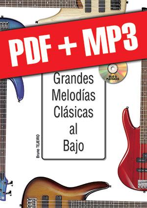 Las grandes melodías clásicas al bajo (pdf + mp3)