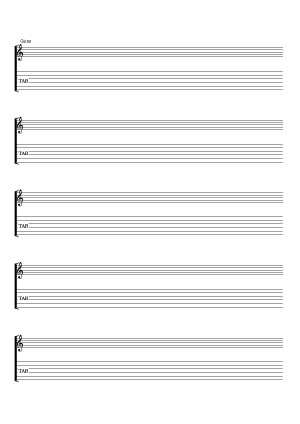 Guitarra (solfeo & tablaturas)