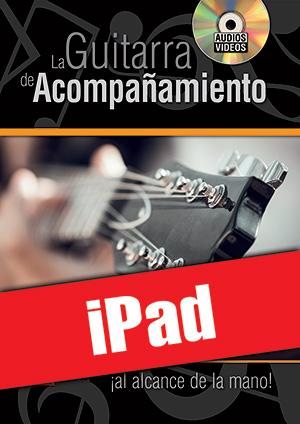 La guitarra de acompañamiento ¡al alcance de la mano! (iPad)