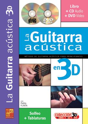 La guitarra acústica en 3D