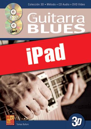 La guitarra blues en 3D (iPad)