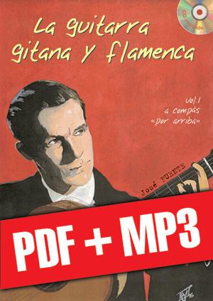 La guitarra gitana y flamenca (pdf + mp3)