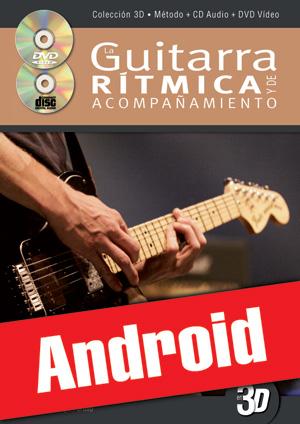 La guitarra rítmica y de acompañamiento en 3D (Android)