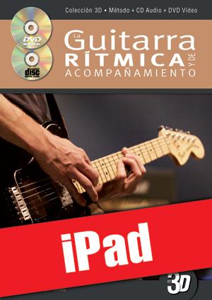 La guitarra rítmica y de acompañamiento en 3D (iPad)