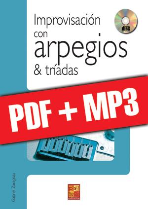 Improvisación con arpegios & tríadas (pdf + mp3)