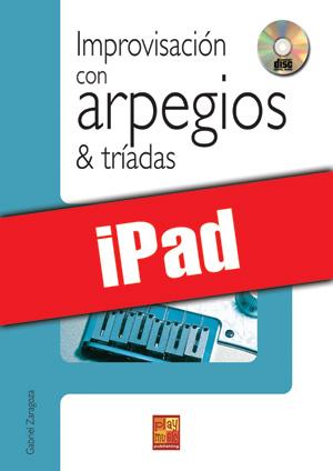 Improvisación con arpegios & tríadas (iPad)