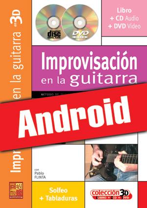 Improvisación en la guitarra en 3D (Android)