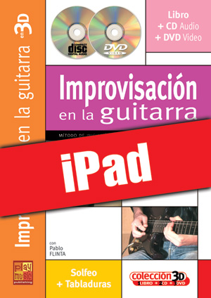 Improvisación en la guitarra en 3D (iPad)