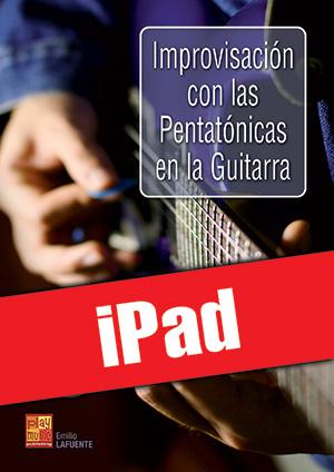 Improvisación con las pentatónicas en la guitarra (iPad)