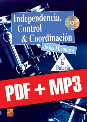 Independencia, control & coordinación en la batería (pdf + mp3)