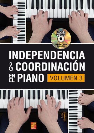 Independencia & coordinación en el piano - Volumen 3