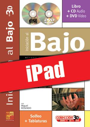 Iniciación al bajo en 3D (iPad)