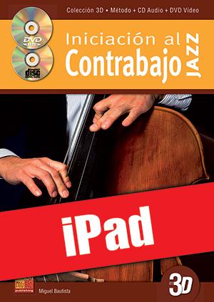 Iniciación al contrabajo jazz en 3D (iPad)