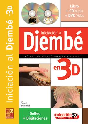 Iniciación al djembé en 3D