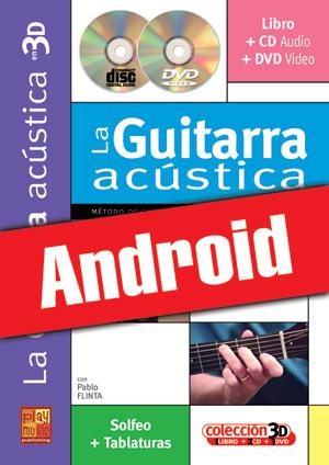 La guitarra acústica en 3D (Android)