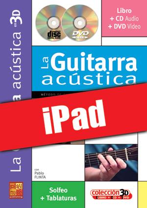 La guitarra acústica en 3D (iPad)