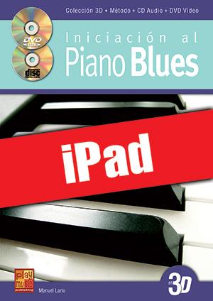 Iniciación al piano blues en 3D (iPad)