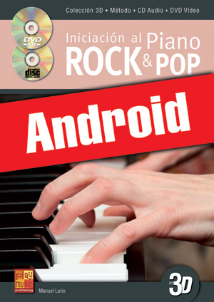 Iniciación al piano rock & pop en 3D (Android)