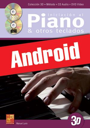 Iniciación al piano y otros teclados en 3D (Android)