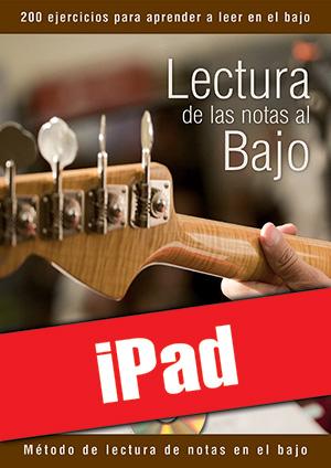 Lectura de las notas al bajo (iPad)