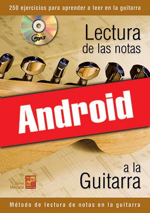 Lectura de las notas a la guitarra (Android)