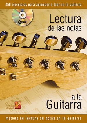 Lectura de las notas a la guitarra