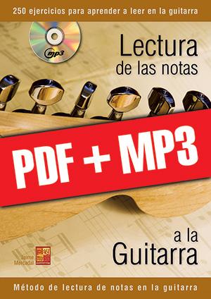 Lectura de las notas a la guitarra (pdf + mp3)