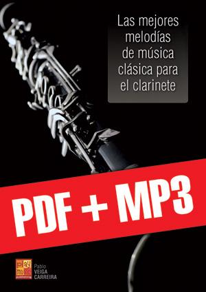 Las mejores melodías de música clásica para el clarinete (pdf + mp3)