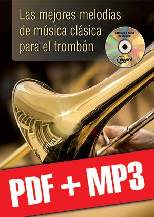 Las mejores melodías de música clásica para el trombón (pdf + mp3)