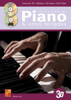 Iniciación al piano y otros teclados en 3D