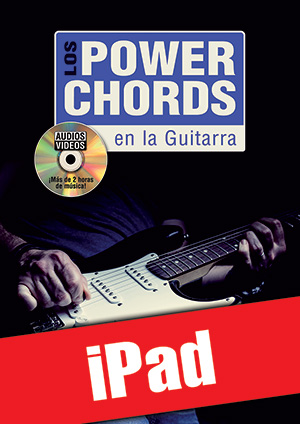 Los power chords en la guitarra (iPad)