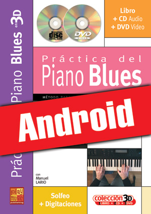 Práctica del piano blues en 3D (Android)
