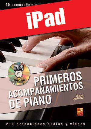 Primeros acompañamientos de piano (iPad)