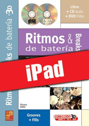 Ritmos & breaks de batería en 3D (iPad)