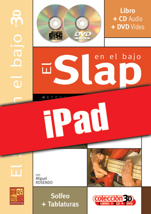 El slap en el bajo en 3D (iPad)
