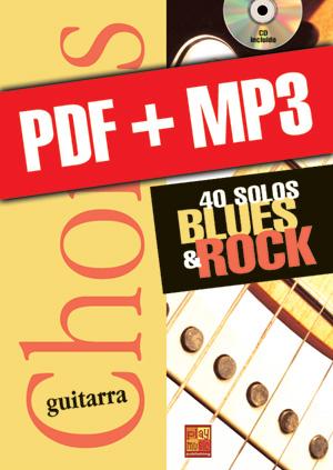 Chorus Guitarra - 40 solos blues & rock (pdf + mp3)