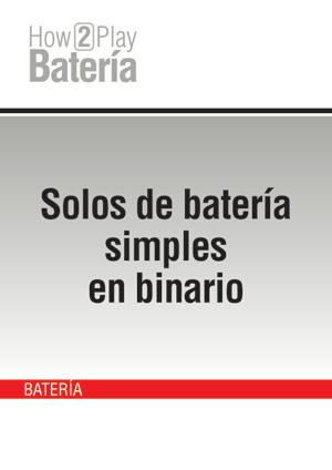 Solos de batería simples en binario