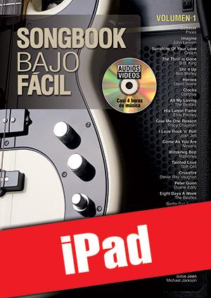 Songbook Bajo Fácil - Volumen 1 (iPad)