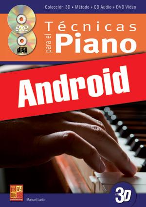 Técnicas para el piano en 3D (Android)