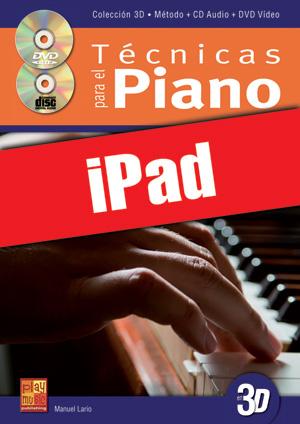 Técnicas para el piano en 3D (iPad)
