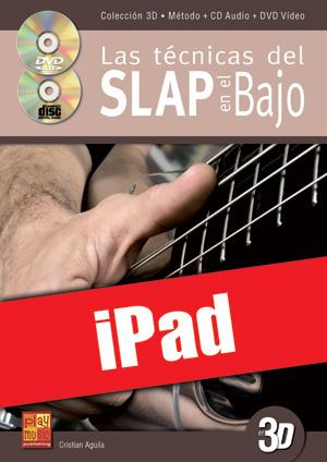 Las técnicas del slap en el bajo en 3D (iPad)