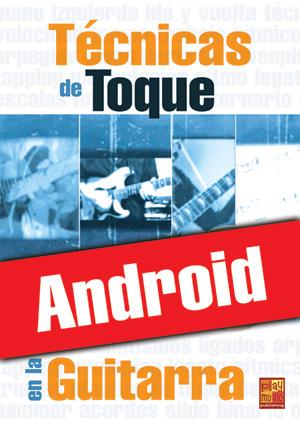 Técnicas de toque en la guitarra (Android)