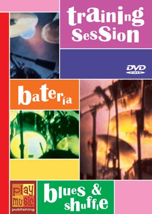 DVD Training Session - Batería blues & shuffle
