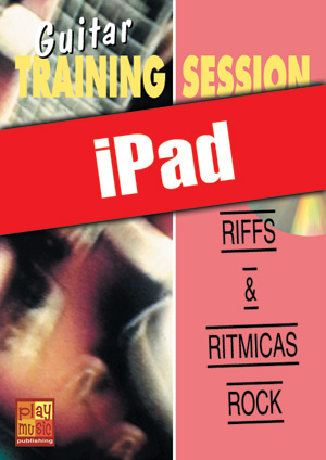 Guitar Training Session - Riffs & rítmicas rock (iPad)